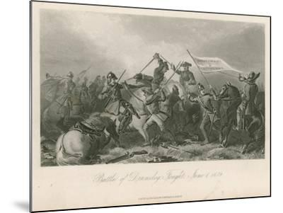 Battle of Drumclog, Fought, June 1, 1679--Mounted Giclee Print