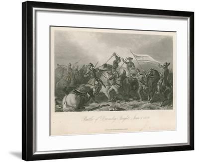 Battle of Drumclog, Fought, June 1, 1679--Framed Giclee Print
