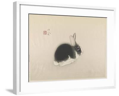 Rabbit--Framed Giclee Print