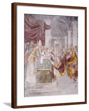 Presentation of Jesus in Temple--Framed Giclee Print