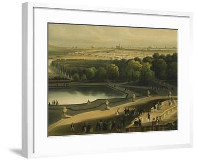 View of Schoenbrunn Palace in Vienna, Austria--Framed Giclee Print
