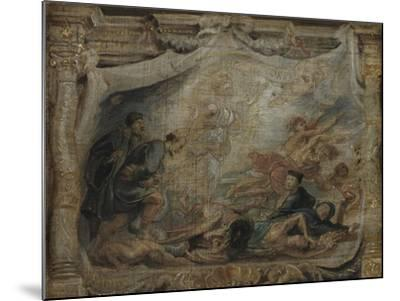The Victory of the Eucharist over Heresy, C.1625-26--Mounted Giclee Print