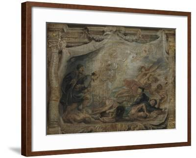 The Victory of the Eucharist over Heresy, C.1625-26--Framed Giclee Print