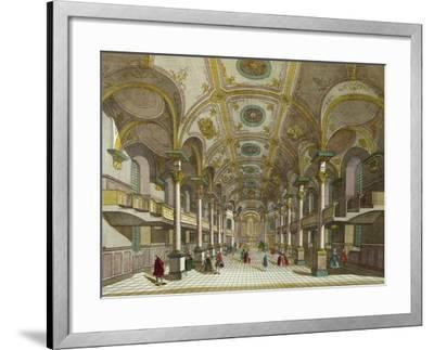 Interior of St. Martin's Church in London, United Kingdom--Framed Giclee Print