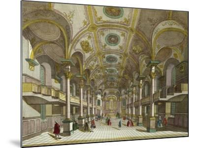 Interior of St. Martin's Church in London, United Kingdom--Mounted Giclee Print