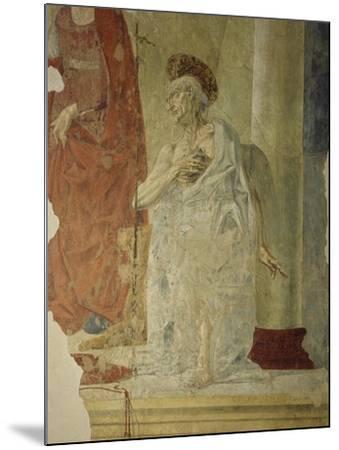 St Jerome, Attributed to Andrea Del Verrocchio Collaborators--Mounted Giclee Print