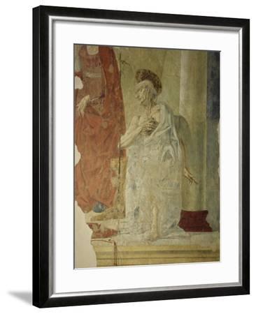 St Jerome, Attributed to Andrea Del Verrocchio Collaborators--Framed Giclee Print