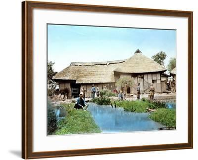 View of a Japanese Farm, C.1900--Framed Giclee Print
