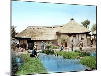View of a Japanese Farm, C.1900--Mounted Giclee Print