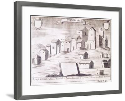 View of Guardialfiera, Italy--Framed Giclee Print