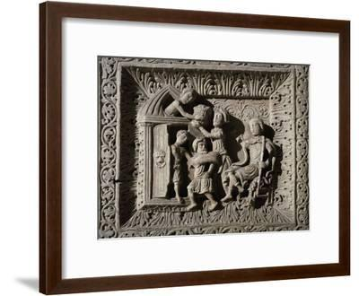 Relief Depicting Stories of Joseph--Framed Giclee Print