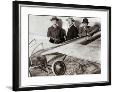 Paul Eluard--Framed Photographic Print