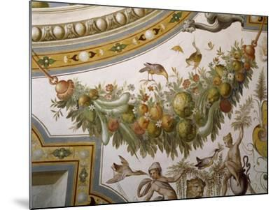 Fantastical Patterns and Festoon with Fruit and Flowers, from Vault of Hall of Victory--Mounted Giclee Print