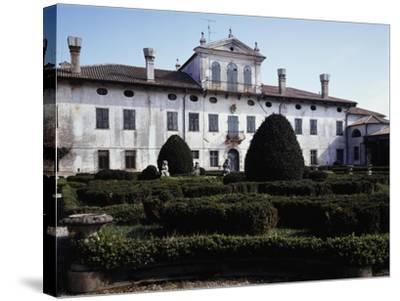 Facade of Villa De Claricini Dornpacher, Bottenicco, Friuli-Venezia Giulia, Italy--Stretched Canvas Print