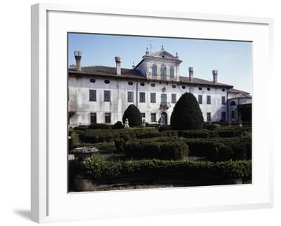 Facade of Villa De Claricini Dornpacher, Bottenicco, Friuli-Venezia Giulia, Italy--Framed Giclee Print