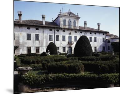 Facade of Villa De Claricini Dornpacher, Bottenicco, Friuli-Venezia Giulia, Italy--Mounted Giclee Print