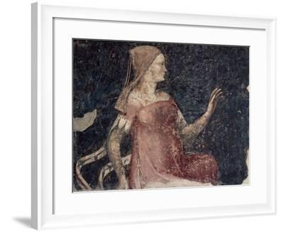 Italy, Ferrara, House of Minerbi, Room of Allegories, Inconstancy, from Cycle of Vices and Virtues--Framed Giclee Print