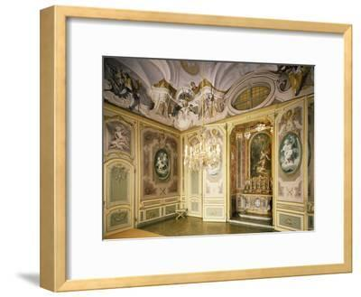 St Hubert's Ante-Chapel and Chapel, Stupinigi's Little Hunting Palace--Framed Photographic Print