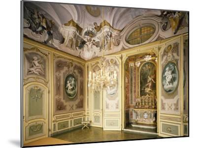 St Hubert's Ante-Chapel and Chapel, Stupinigi's Little Hunting Palace--Mounted Photographic Print