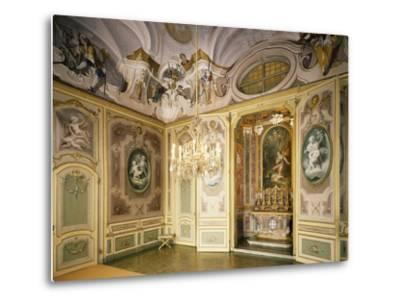 St Hubert's Ante-Chapel and Chapel, Stupinigi's Little Hunting Palace--Metal Print