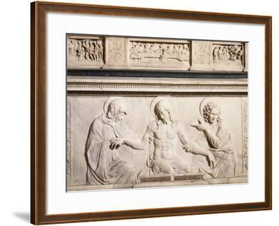 Detail from Bas-Relief from Altar--Framed Giclee Print