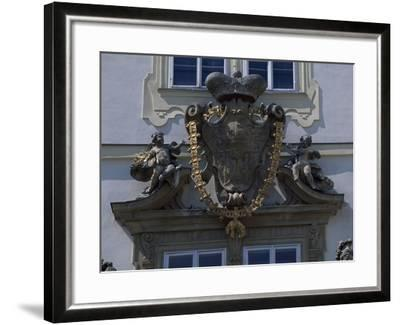 Architectural Detail from Valtice Castle--Framed Photographic Print