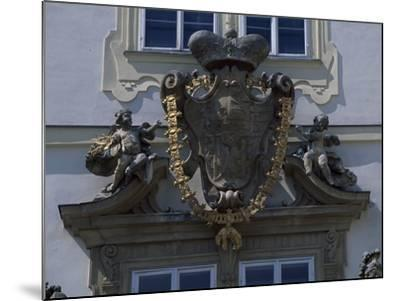 Architectural Detail from Valtice Castle--Mounted Photographic Print