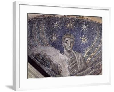 Mosaic Detail, Baptistery of Cathedral of Santa Maria Assunta, Naples, Campania, Italy--Framed Giclee Print