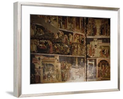 Italy, Emilia-Romagna, Parma, Cathedral of Santa Maria Assunta, Valeri Chapel Frescoes, 1423-1426--Framed Giclee Print