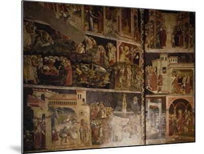 Italy, Emilia-Romagna, Parma, Cathedral of Santa Maria Assunta, Valeri Chapel Frescoes, 1423-1426--Mounted Giclee Print
