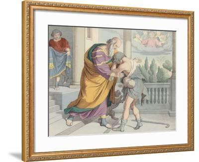The Prodigal Son--Framed Giclee Print