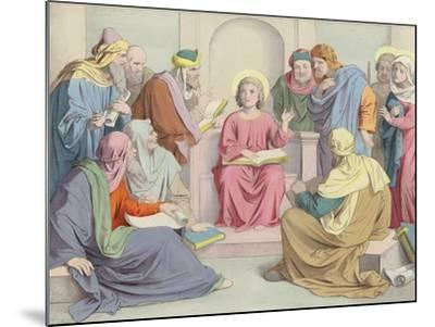 Jesus Is Found in the Temple--Mounted Giclee Print