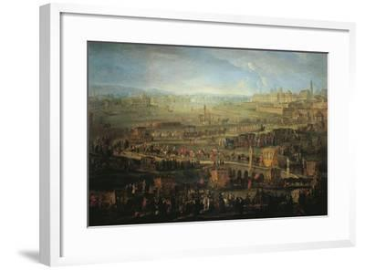 Austria, Vienna, the Parade of French Ambassadors, Marquis Mirepoix in Vienna, October 12, 1738--Framed Giclee Print
