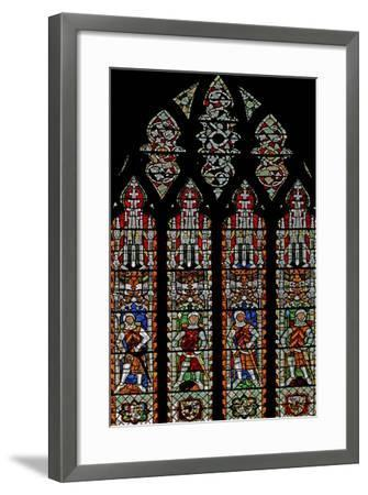 Window S4 Depicting De Clare Knights and William Lord De La Zouche--Framed Giclee Print