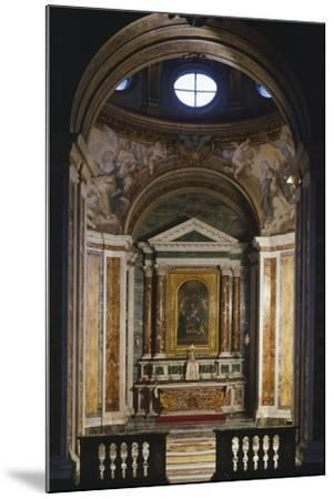 Chapel of St Catherine, Basilica of St Sabine, Rome, Italy, 5th Century--Mounted Giclee Print