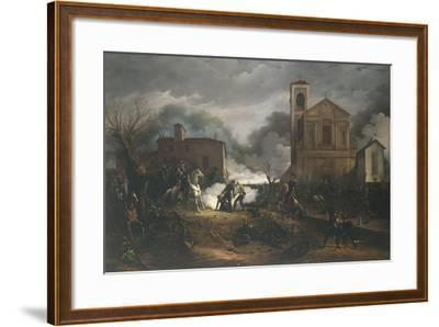 First War of Independence - Novara, Battle of Bicocca, 23 March 1849--Framed Giclee Print