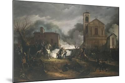 First War of Independence - Novara, Battle of Bicocca, 23 March 1849--Mounted Giclee Print