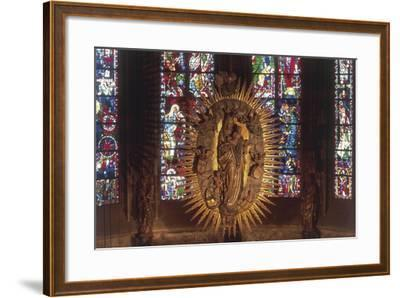 Madonna and Child, the Choir, Cathedral of Aachen--Framed Giclee Print