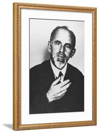 Ossip Mandelstam--Framed Photographic Print