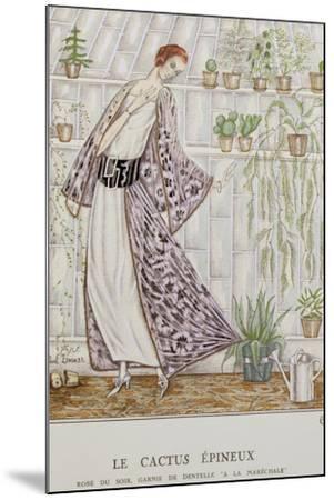 Gazette Du Bon Ton; Le Cactus Epineux--Mounted Giclee Print