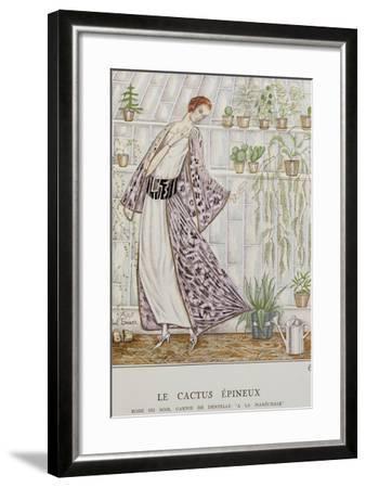 Gazette Du Bon Ton; Le Cactus Epineux--Framed Giclee Print