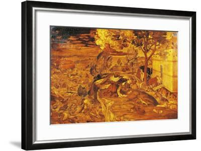 16th Century Inlays from Balustrade of High Altar of Santa Maria Maggiore Basilica, Bergamo, Italy--Framed Giclee Print