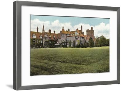 Girton College--Framed Photographic Print