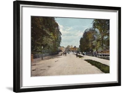Trumpington Road and Trumpington Street--Framed Photographic Print