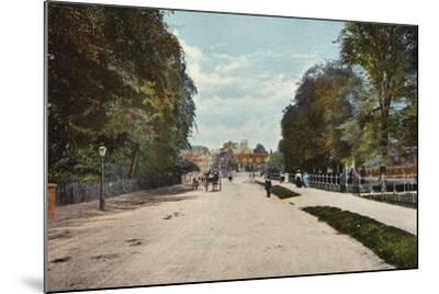 Trumpington Road and Trumpington Street--Mounted Photographic Print