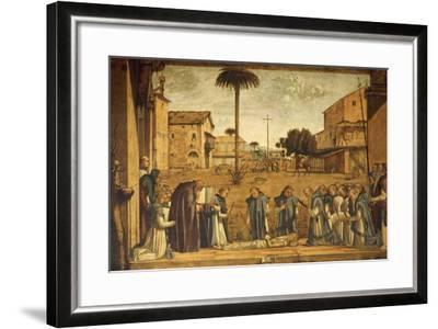 Death of St. Jerome--Framed Giclee Print