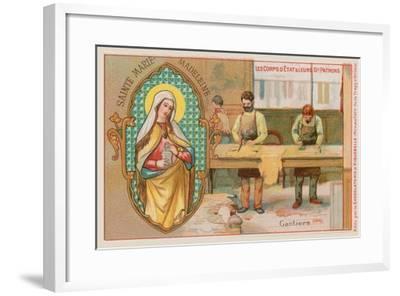 Mary Magdalene, Patron Saint of Glove Makers--Framed Giclee Print