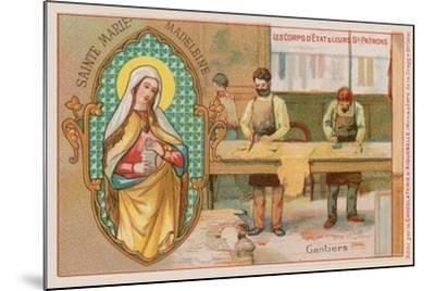 Mary Magdalene, Patron Saint of Glove Makers--Mounted Giclee Print