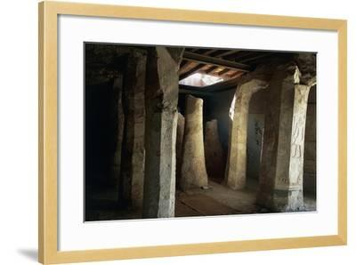 Egypt, El-Moa'Alla, Tomb of Ankhtifi Interior--Framed Giclee Print