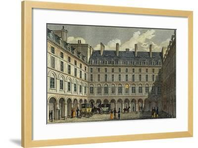 France, Paris, View of the Central Court of the Ministry of Finance--Framed Giclee Print